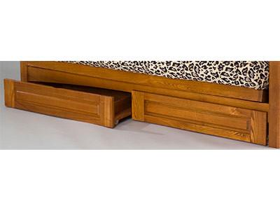 Gold Bond Full Size Oak Drawers