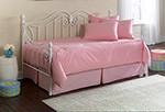 Solid Pink Daybed Comforter Set