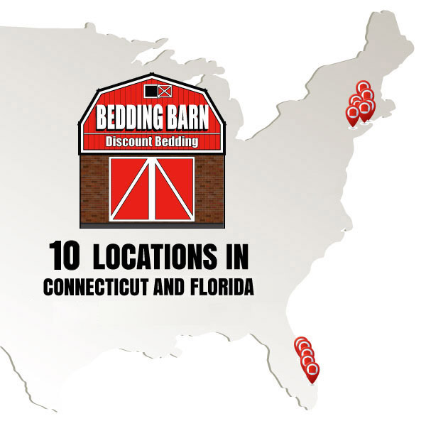 Bedding Barn has 10 locations in 2 states.